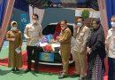 Bank Sumsel Babel Prabumulih Banjir Hadiah. Undian Ke-39 Grand Prize Mobil di Bawa Pulang Eva Susanti